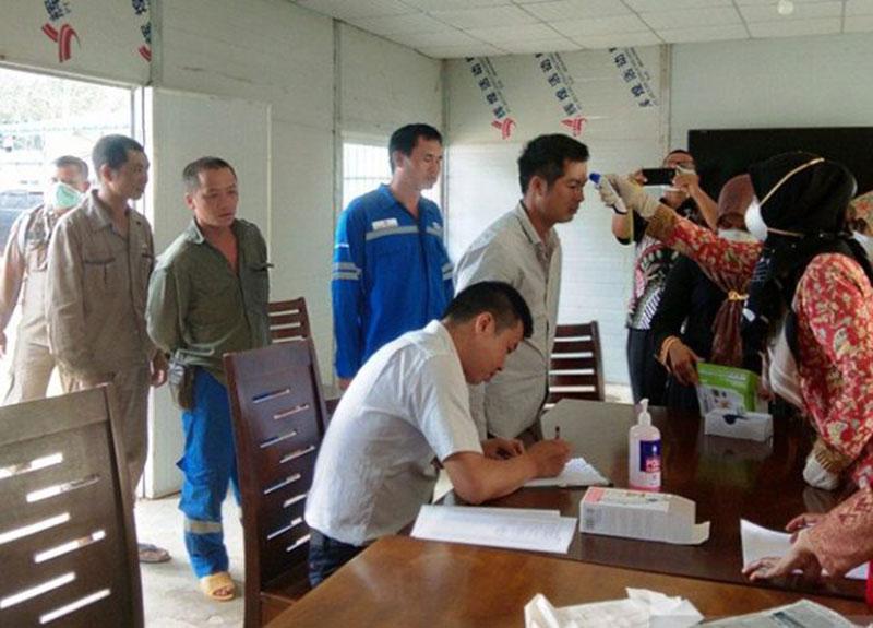 61 TKA Asal Cina di Pesisir Selatan Ikuti Cek Kesehatan