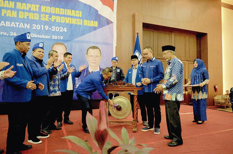 Zulhas Singgung Syamsuar soal Pimpin PAN Riau