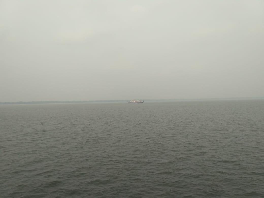 Kabut Asap Ganggu Jalur Pelayaran