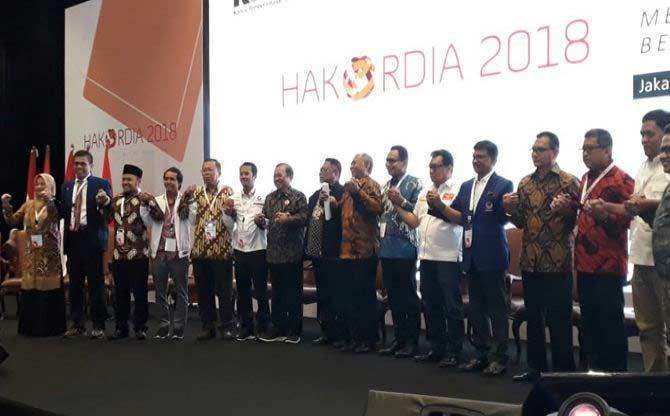 14 Parpol Tanda Tangani Pakta Integritas KPK