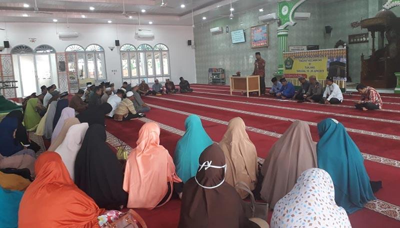 JCH Rayon V Siak Gelar Manasik Haji