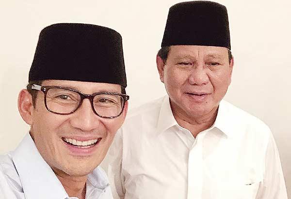 Prabowo-Sandiaga Tak Cukup Hanya Blusukan seperti Jokowi