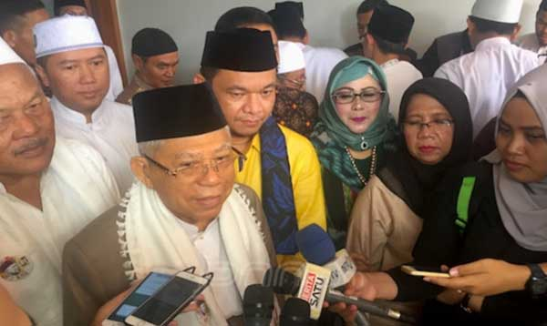 Keliling Indonesia, Ma�ruf Amin Sepekan Tinggalkan Jakarta