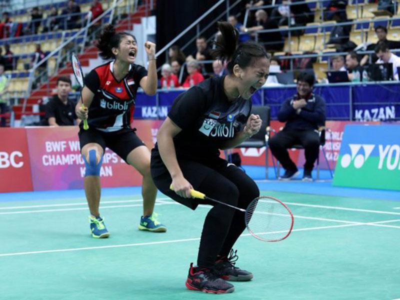Kalahkan Unggulan Kedua, Ganda Putri Indonesia Maju ke Final