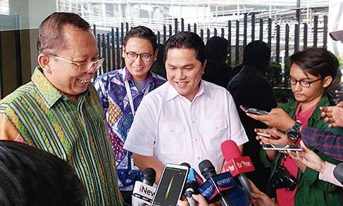 Erick Thohir Tolak  Jasa Konsultan Politik