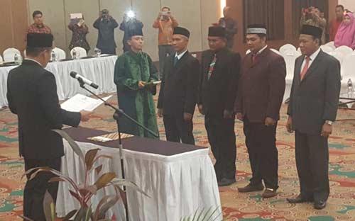 Empat Komisioner PAW Kabupaten Dilantik