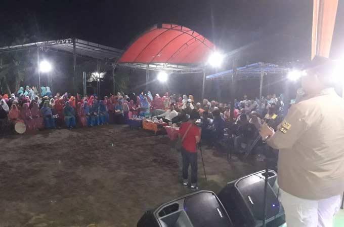 LE Disambut ''Riau Bangkit Tanpa Korupsi''