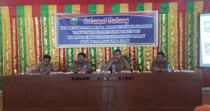 Kelurahan Perawang dan PSB Wakili Tualang Lomba Tingkat Kabupaten