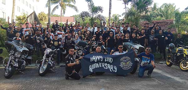 Motor Besar Club Indonesia-Pekanbaru Rayakan HUT Ke-2