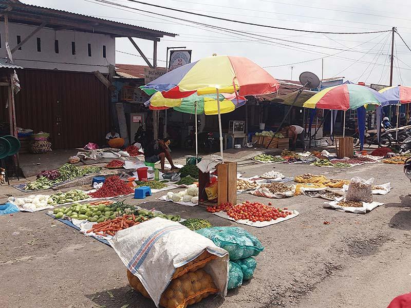 PKL Segera Masuk Pasar Rakyat
