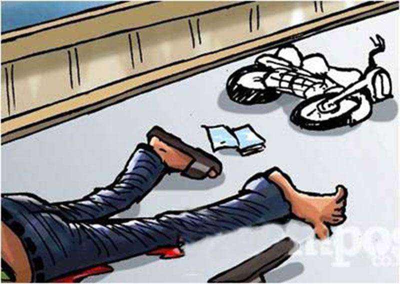 Oknum Polisi Nyaris Diamuk Massa, karena Tabrak Lari