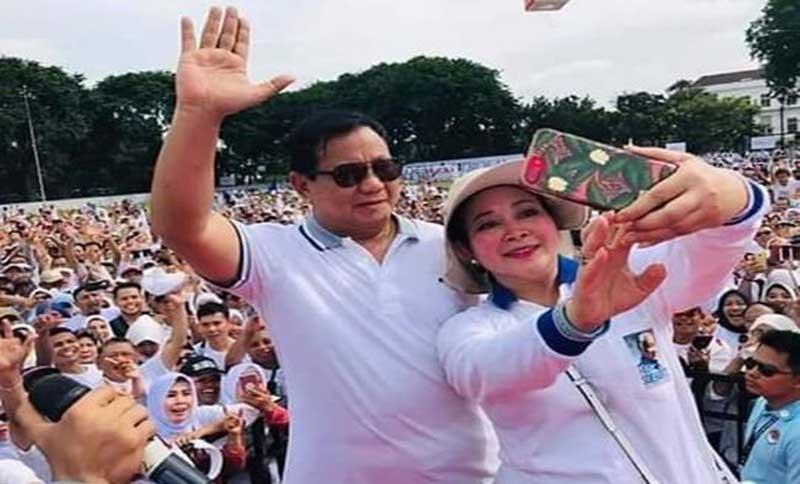 Titiek Soeharto: Prabowo Tulus Membangun Bangsa