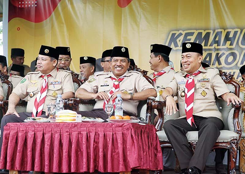 Ribuan Peserta Ikuti Kemah Ukhuwah Regional Ke-3