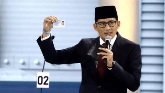 BPN: Kartu yang Ditawarkan  Jokowi Boroskan Anggaran