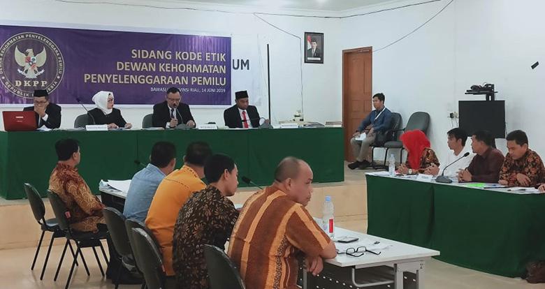28 Juni Baru DKPP Umumkan Putusan
