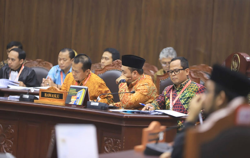 Sidang Sengketa Pileg di Riau Dilanjutkan Kamis