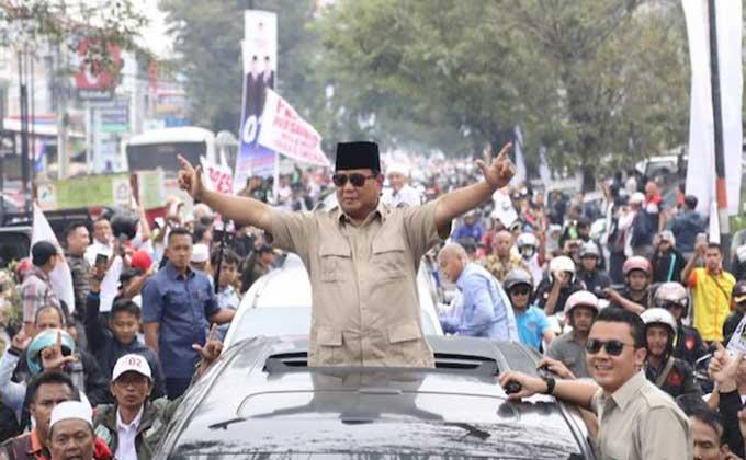 Prabowo Ingat Ibunda yang Perawat
