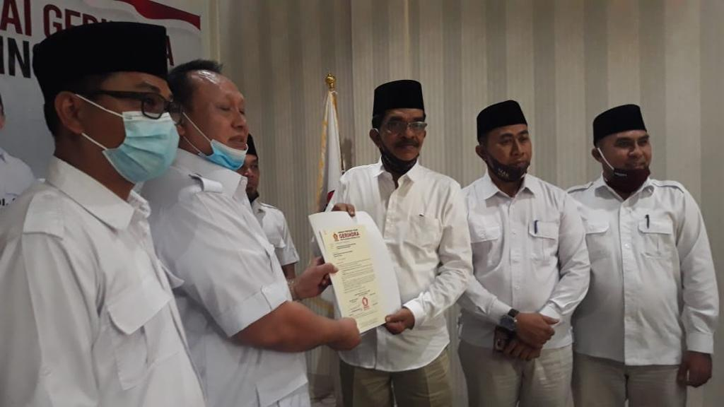 Arif-Sujarwo Resmi Berperahu Gerindra di Negeri Istana
