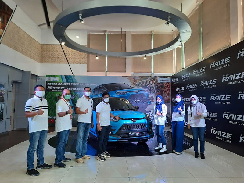 Toyota Raize Hadir di Riau