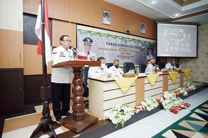 Bupati Buka Forum Konsultasi Publik RPJMD