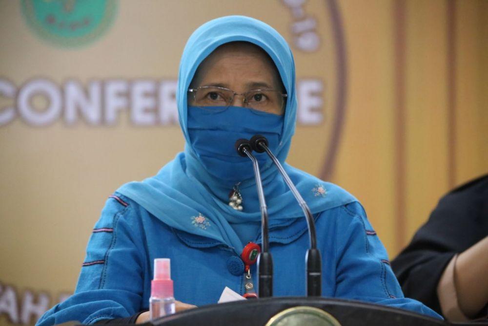 Penambahan Pasien Positif Kembali Tinggi di Riau