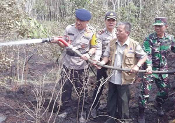 Tembak di Tempat Pembakar Hutan