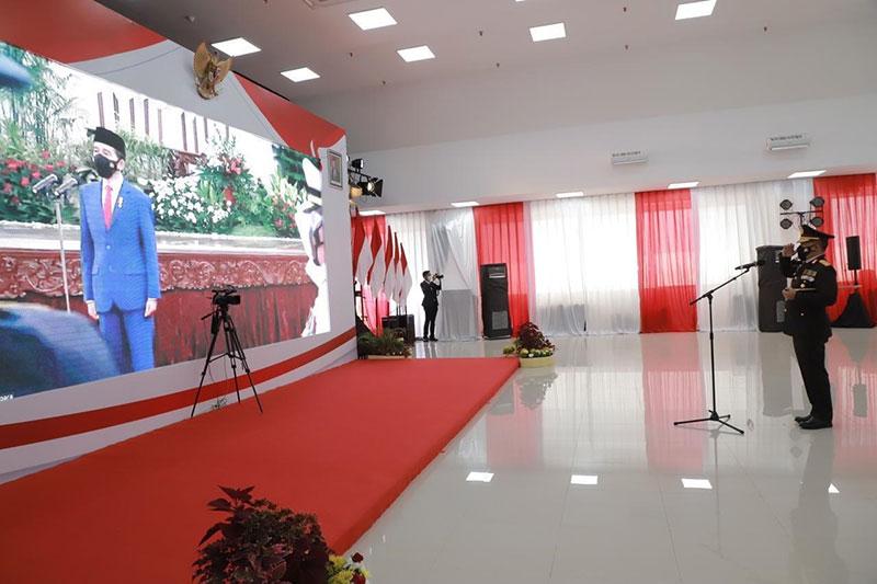 Presiden Jokowi Puji Kinerja Kapolda Riau