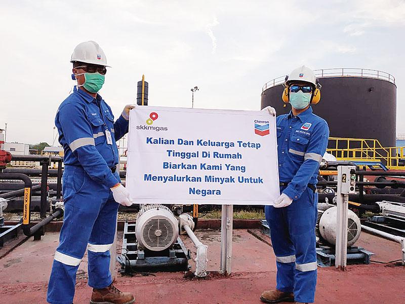 Chevron Terapkan Bekerja Jarak Jauh