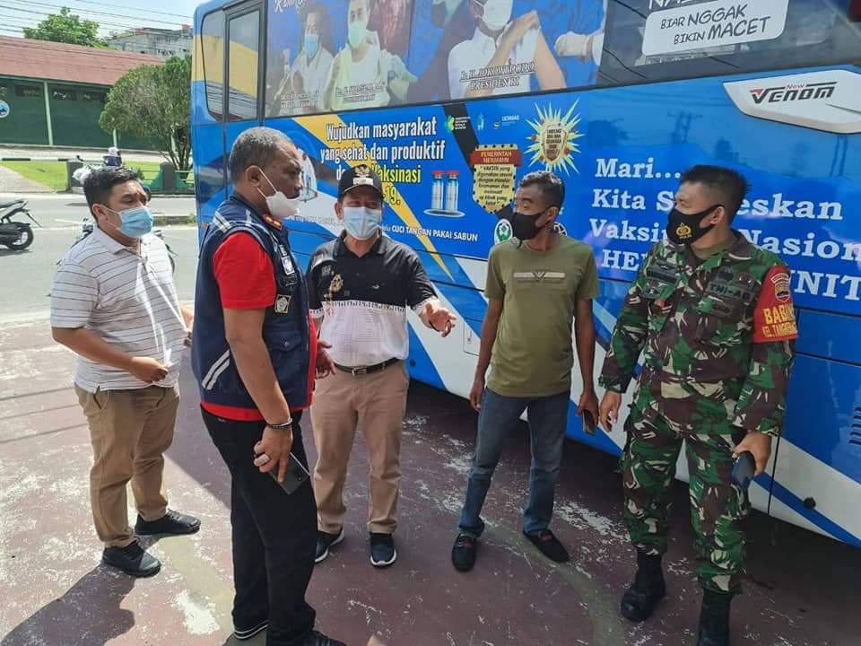 Bus Vaksin Keliling Off Hari Kamis, Fokus di Empat Lokasi Ini