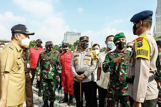 Kendalikan Karhutla, 10 Ribu Personel di Riau Disiagakan
