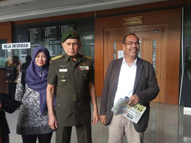 Pakai Seragam Purnawirawan TNI, Kivlan Zen Sebut Kasusnya Direkayasa