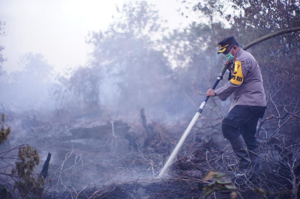 Sedikitnya 30 Ha Lahan di Siak Terbakar