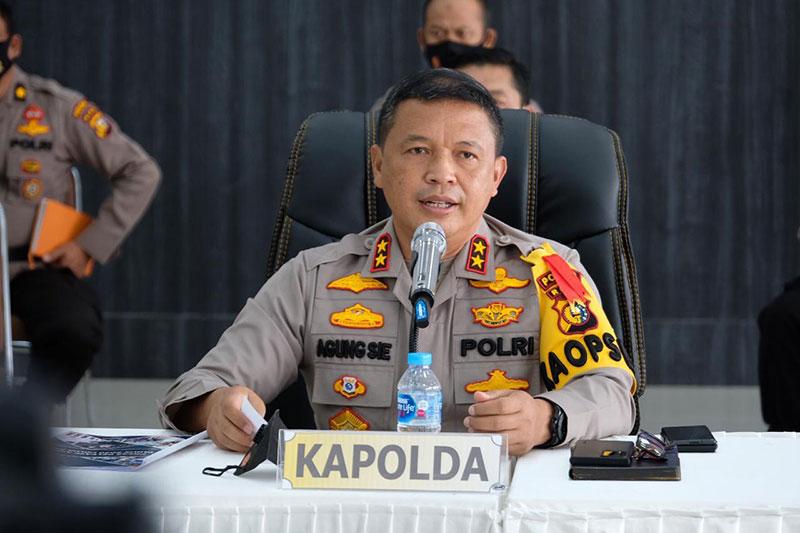 Vaksinasi Massal Polda Riau Targetkan 30.366 Peserta