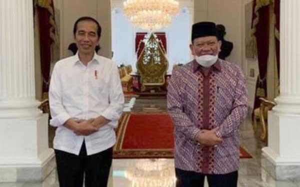 Datangi Istana, La Nyalla Sampaikan Ketahanan Pangan hingga Penguatan DPD