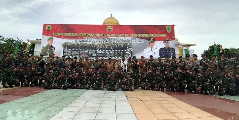 Bupati: TMMD Gerakkan Semangat Gotong Royong