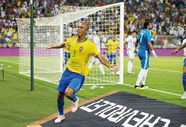 Brazil Menang di Masa Injury Time