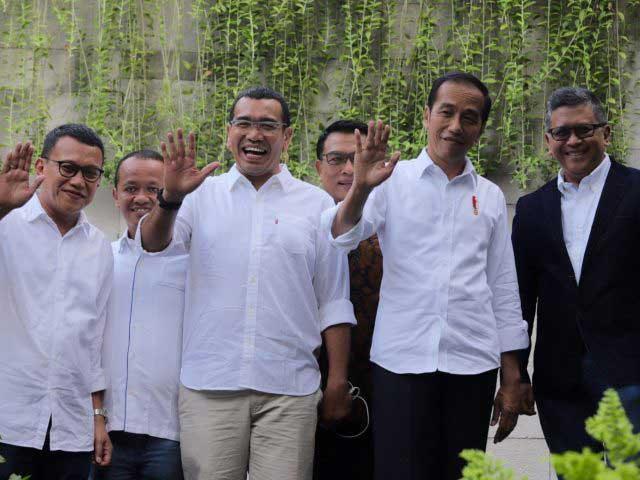 PDIP: Terlambat Demokrat Merapat ke Jokowi