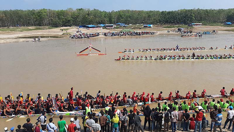 Jalur Palimo Olang Putie Juara di Hulu Kuantan