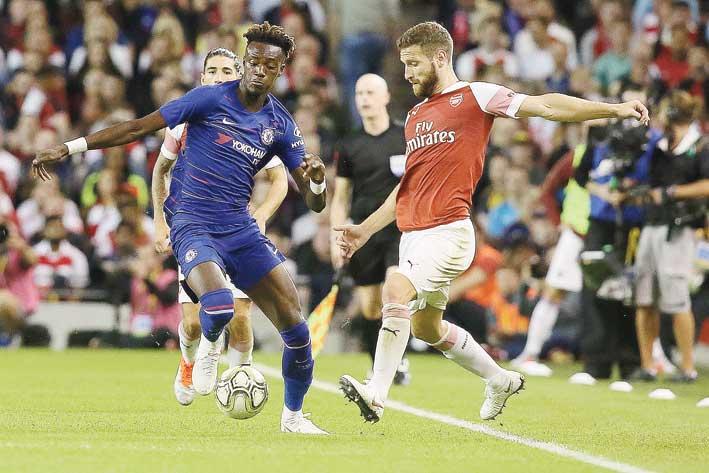 Arsenal Tekuk Chelsea Lewat Adu Penalti