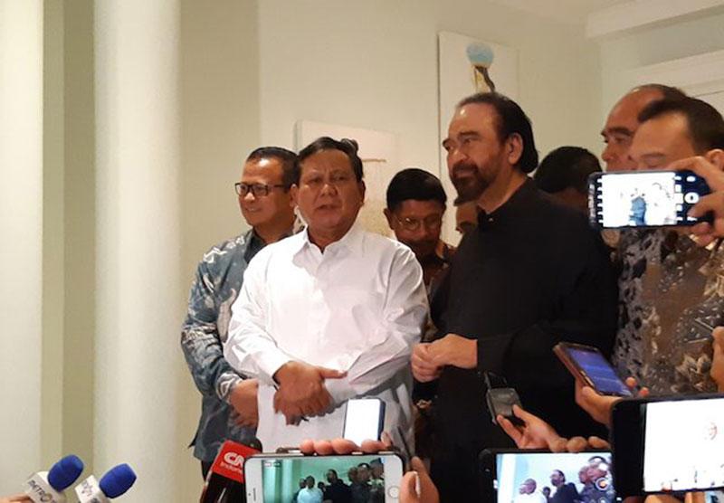 Surya Paloh Akui Punya Kesamaan dengan Prabowo
