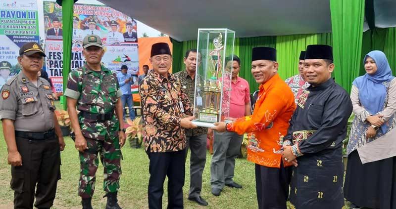 Pacu Rayon II Diikuti 76 Jalur Jalur Unggulan Saling Berhadapan