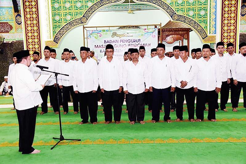 Tingkatkan Fungsi Masjid