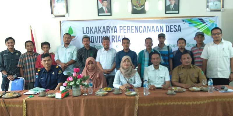 Pemdes Pedekik Gelar Lokakarya Perencanaan Desa Provinsi Riau