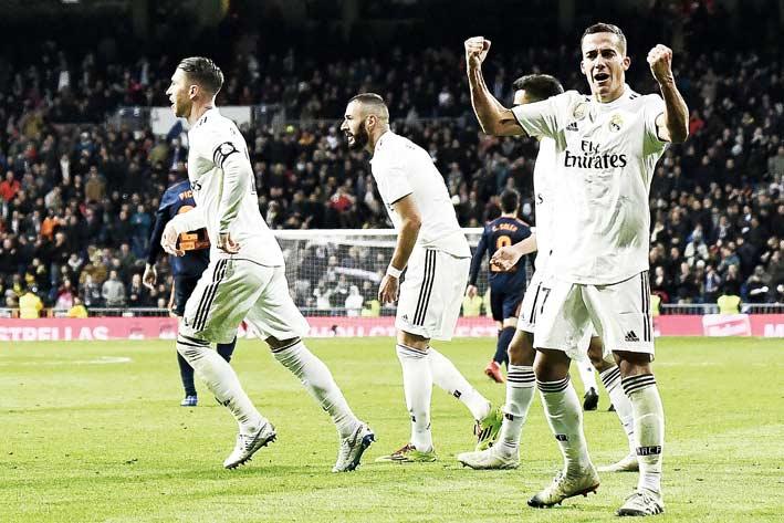 Madrid Dekati Posisi Empat Besar