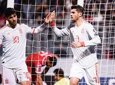Dua Gol Spesial Morata