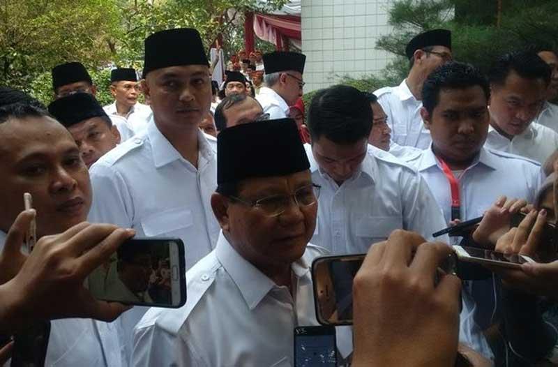 Prabowo Sambangi Surya Paloh untuk Samakan Persepsi 5 Tahun ke Depan