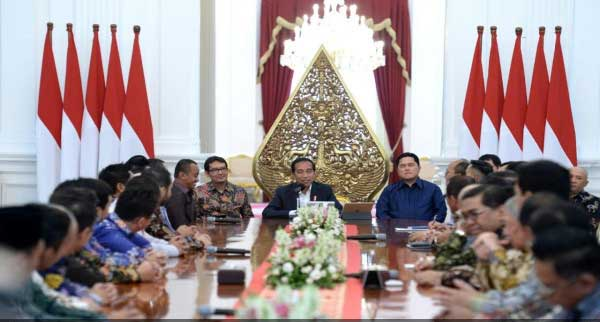 Jokowi Terima 3 Masukan Kadin