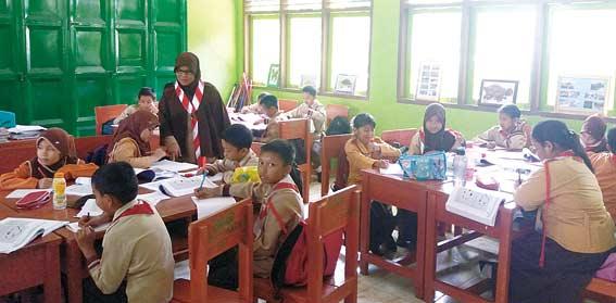 SDN 004 Mekar Jaya Menumpang di MDA