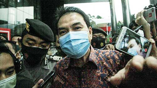 Azis Syamsuddin Masuk Daftar Tersangka