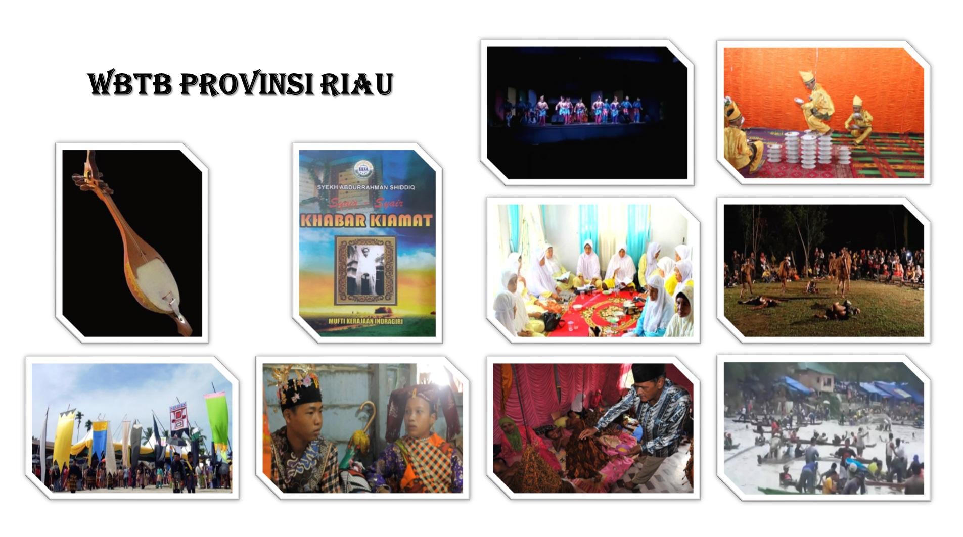 10 Karya Budaya Riau Ini Ditetapkan Menjadi WBTb Nasional